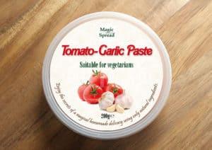 Tomato-Garlic Paste / Pasta pomidorowo-czosnkowa