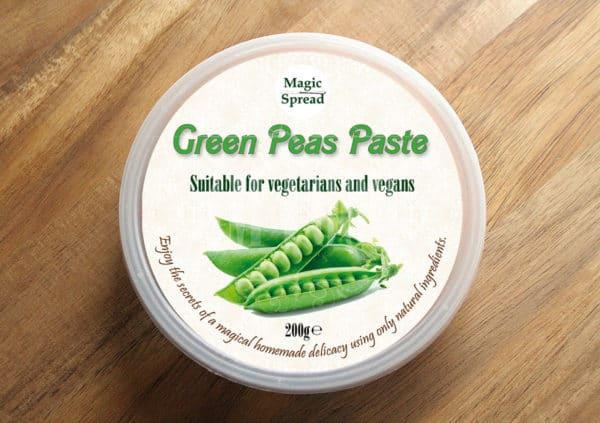 Green Peas Paste 200g / Pasta z zielonego groszku 200g