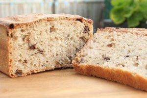 Sourdough wheat-rye prunes bread