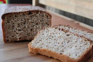 Sourdough wholemeal rye bread