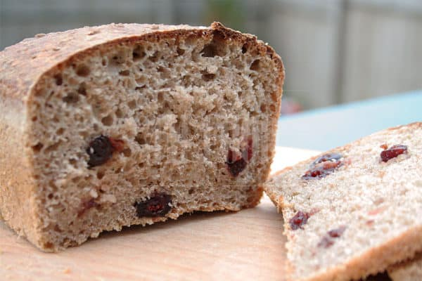 sourdough wheat-rye cranberry bread