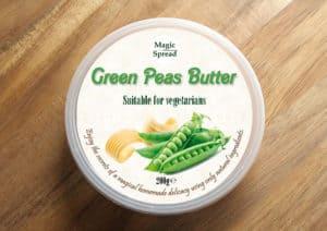 Homemade Green Peas Butter 200g / Masło z zielonego groszku 200g