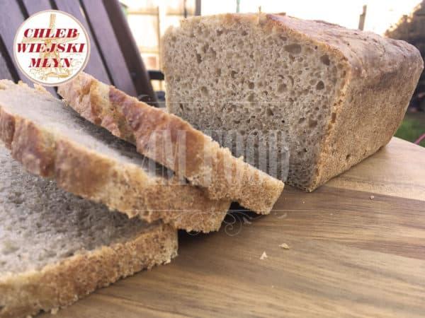 Chleb Wiejski Młyn Pszenno-Żytni Krojony