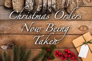 Christmas Orders Now Being Taken